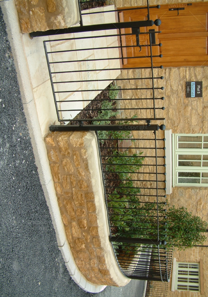 Small Garden Gate and Railings,Somerset